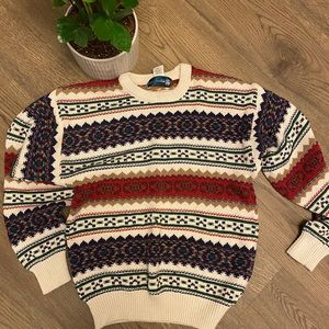 Vintage Sweater Knights of Roundtable